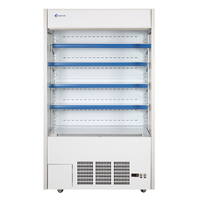 Multi-functional Commercial Supermarket Multideck Chiller for Chilled Dairy Products Equipped with European-style Refrigerator