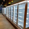Ultra-low Temperature Supermarket Upright Freezer/chiller with Automatic Door Closing Function
