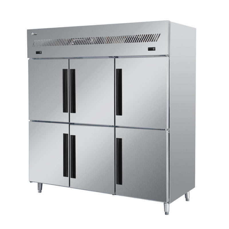 Professionally Manufactured Kitchen Refrigerator for -18~-22°C with Adjustable Stainless Steel Feet